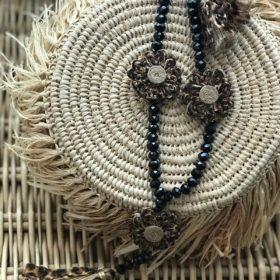 sautoirs boheme, Jil d hostun, boho necklace, butterfly necklace, love necklace, bijoux de luxe