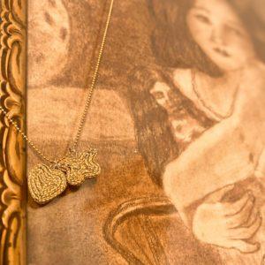Butterfly Kiss petit papillons doré - marque bohème Jil D'Hostun